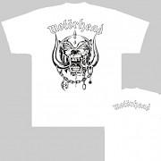 Motörhead - triko bílé
