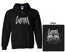 Gojira - mikina s kapucí a zipem