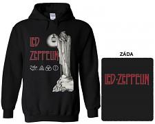Led Zeppelin - mikina s kapucí