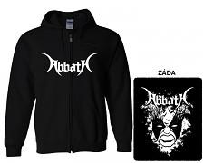 Abbath - mikina s kapucí a zipem