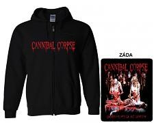 Cannibal Corpse - mikina s kapucí a zipem