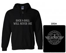 AC/DC - mikina s kapucí a zipem