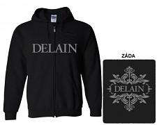 Delain - mikina s kapucí a zipem