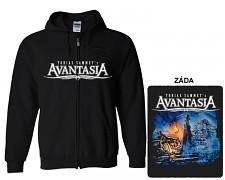 Avantasia - mikina s kapucí a zipem