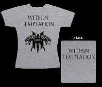 Within Temptation - dámské triko šedé