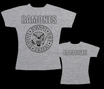 Ramones - dámské triko šedé