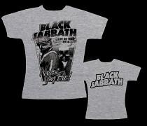 Black Sabbath - dámské triko šedé