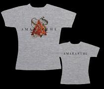 Amaranthe - dámské triko šedé