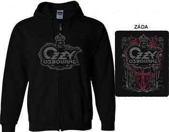 Ozzy Osbourne - mikina s kapucí a zipem