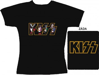 Kiss - dámské triko