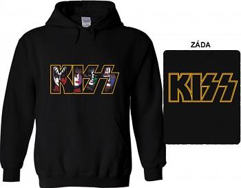 Kiss - mikina s kapucí