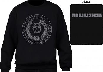 Rammstein - mikina bez kapuce