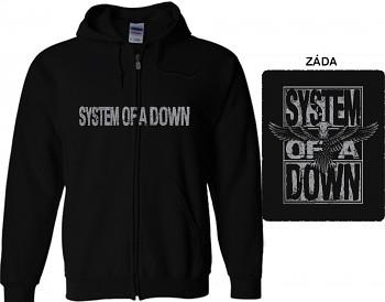 System Of A Down - mikina s kapucí a zipem