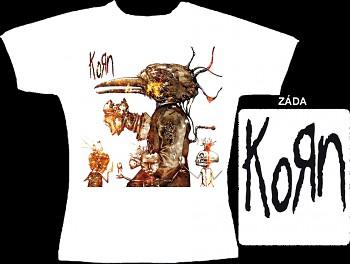 Korn - dámské triko bílé