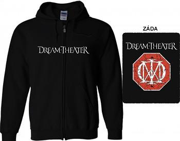 Dream Theater - mikina s kapucí a zipem