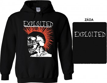 Exploited - mikina s kapucí