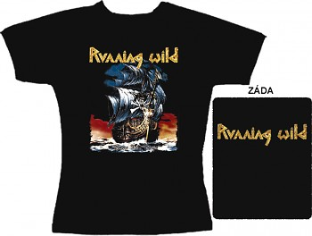 Running Wild - dámské triko