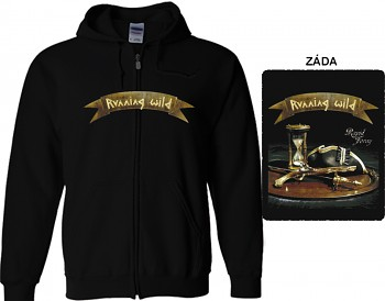 Running Wild - mikina s kapucí a zipem