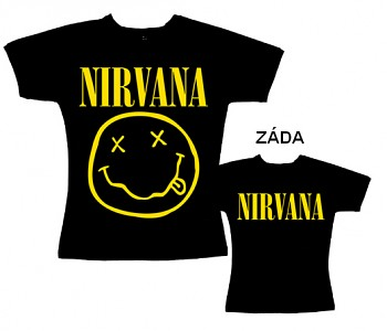 Nirvana - dámské triko