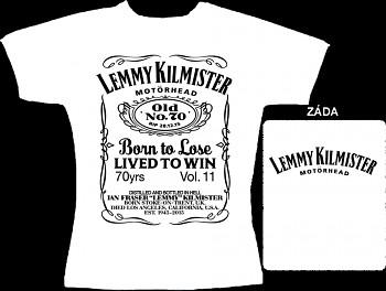 Motörhead - dámské triko bílé