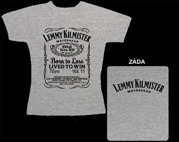 Motörhead - dámské triko šedé