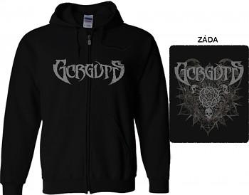 Gorguts - mikina s kapucí a zipem