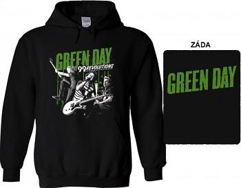 Green Day - mikina s kapucí