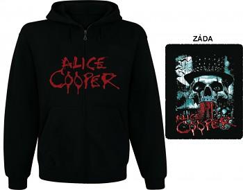 Alice Cooper - mikina s kapucí a zipem