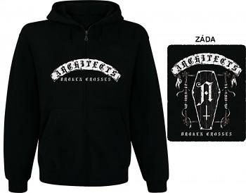 Architects - mikina s kapucí a zipem