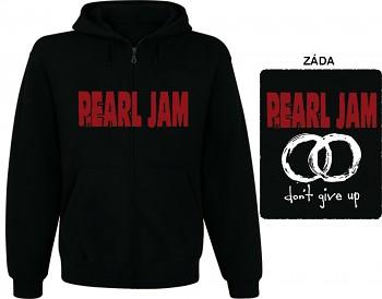 Pearl Jam - mikina s kapucí a zipem