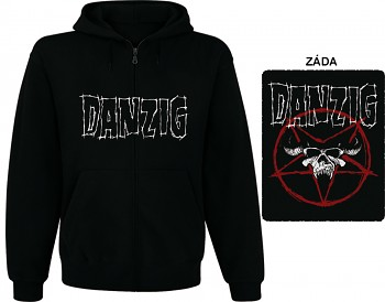 Danzig - mikina s kapucí a zipem
