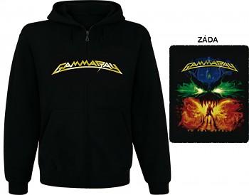 Gamma Ray - mikina s kapucí a zipem