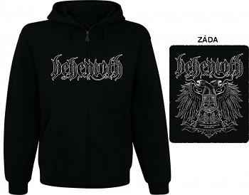 Behemoth - mikina s kapucí a zipem