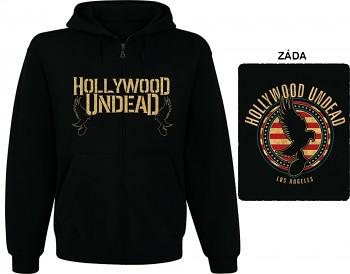 Hollywood Undead - mikina s kapucí a zipem