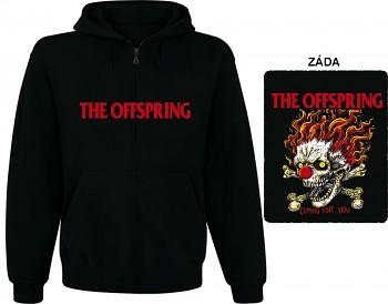 Offspring - mikina s kapucí a zipem