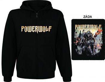 Powerwolf - mikina s kapucí a zipem