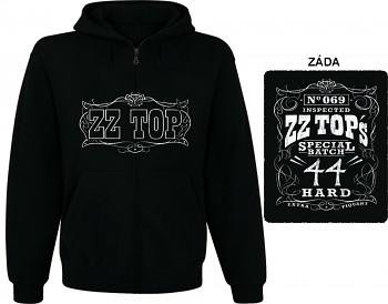 ZZ Top - mikina s kapucí a zipem