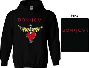 Bon Jovi - mikina s kapucí
