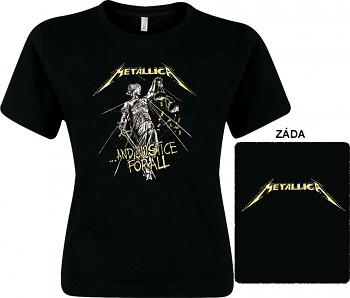 Metallica - dámské triko