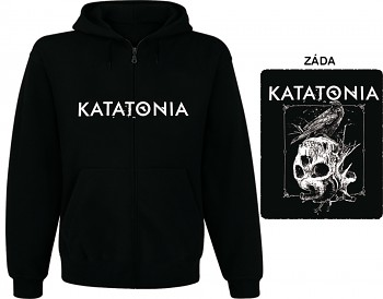 Katatonia - mikina s kapucí a zipem
