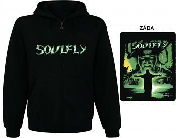 Soulfly - mikina s kapucí a zipem