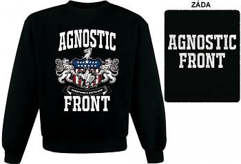 Agnostic Front - mikina bez kapuce