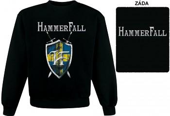 Hammerfall - mikina bez kapuce