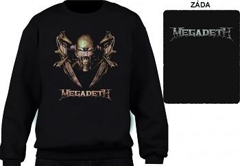 Megadeth - mikina bez kapuce