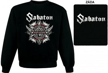 Sabaton - mikina bez kapuce